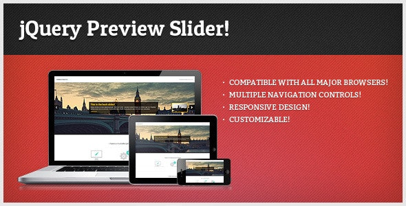 jQuery Preview Slider - CodeCanyon Item for Sale
