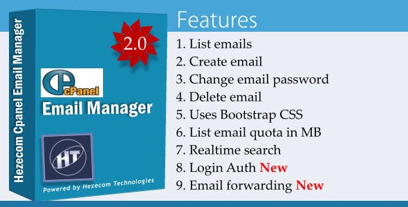Cpanel Email Manager