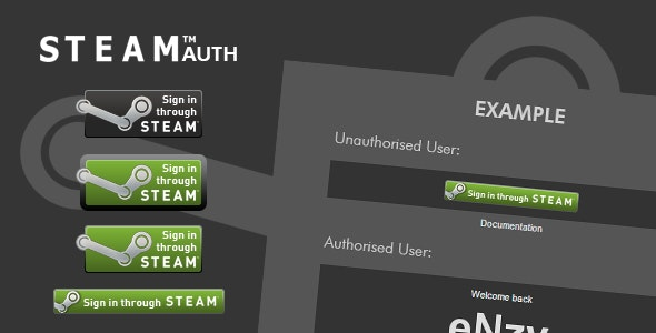 Steam Auth [CodeIgniter & Standalone] - CodeCanyon Item for Sale