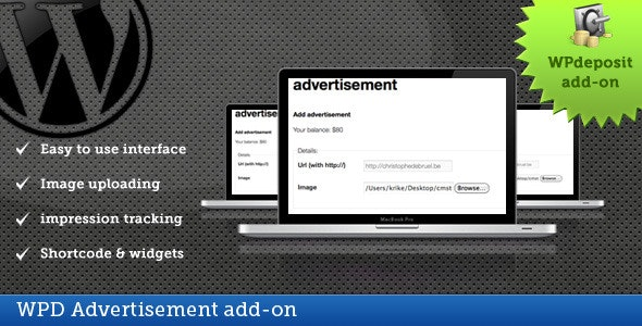 WPD Advertisement add-on