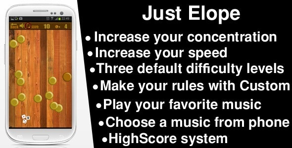 Adobe Air Game For Android : Just Elope - CodeCanyon Item for Sale