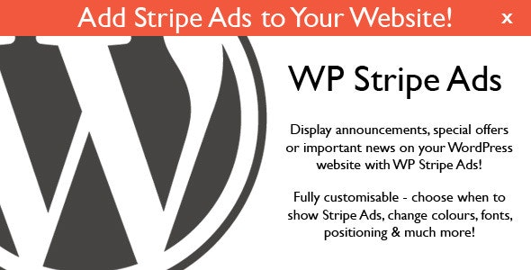 WP Stripe Ads - CodeCanyon Item for Sale