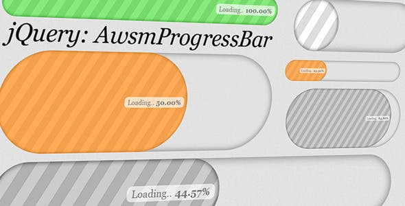 AwsmProgressBar for jQuery