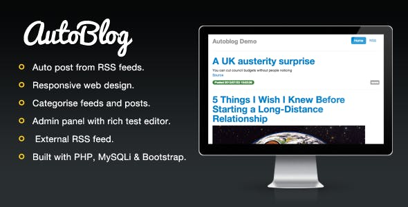 Autoblog - effortless blog posting.