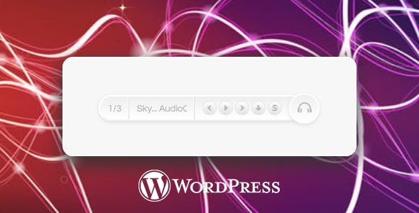 HTML5 Music Player for WordPress with 3 Skins