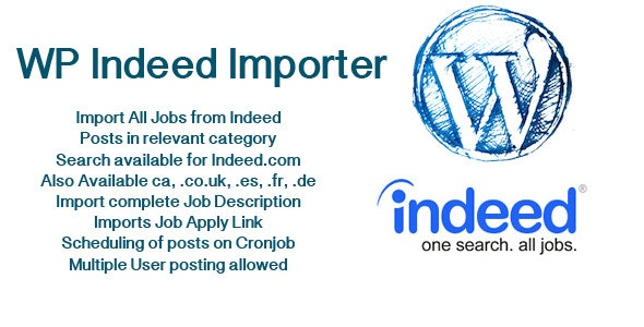 WP Indeed Importer - CodeCanyon Item for Sale
