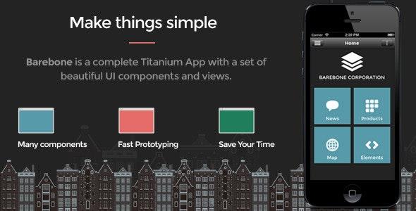 Barebone App. Full Application - CodeCanyon Item for Sale