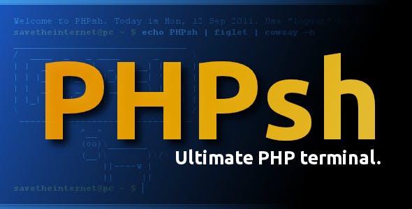 PHPsh - PHP Terminal