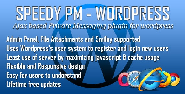 Speedy PM for WordPress - CodeCanyon Item for Sale