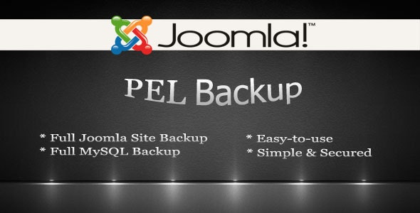 Pel Backup for Joomla - CodeCanyon Item for Sale