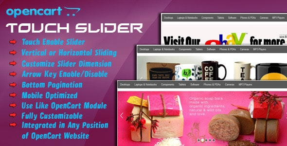 opencart touch slider - CodeCanyon Item for Sale