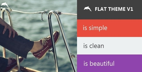 Flat Theme For phpDolphin - CodeCanyon Item for Sale