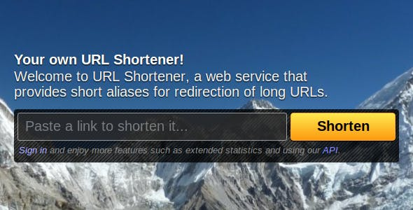 Shortix – URL Shortener - CodeCanyon Item for Sale