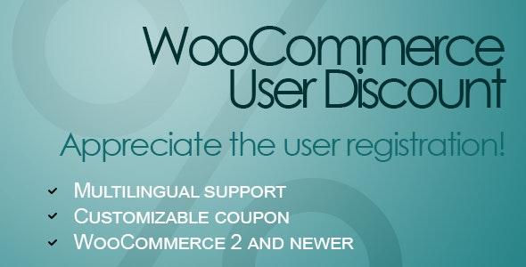WooCommerce User Discount - CodeCanyon Item for Sale
