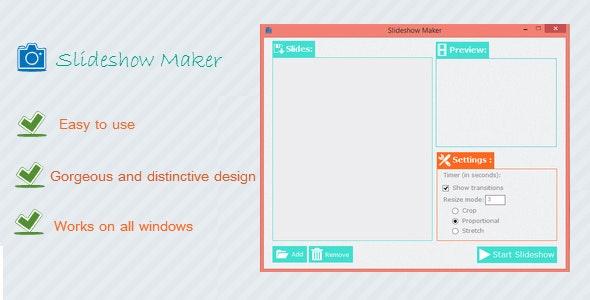Slideshow Maker - CodeCanyon Item for Sale