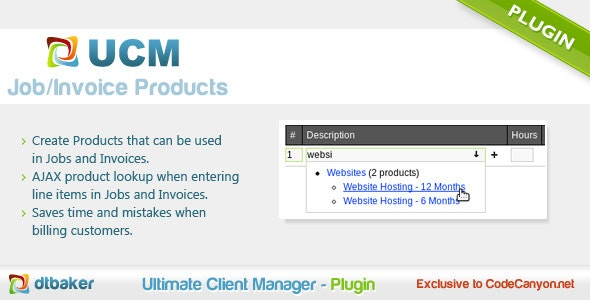 Quote Invoice Products - CodeCanyon Item for Sale