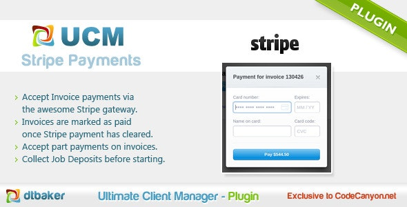 Stripe Payments - CodeCanyon Item for Sale