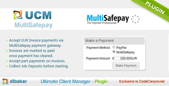 MultiSafepay Payments - CodeCanyon Item for Sale