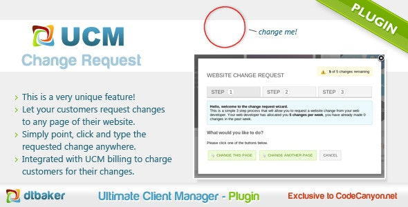 Client Website Changes - CodeCanyon Item for Sale