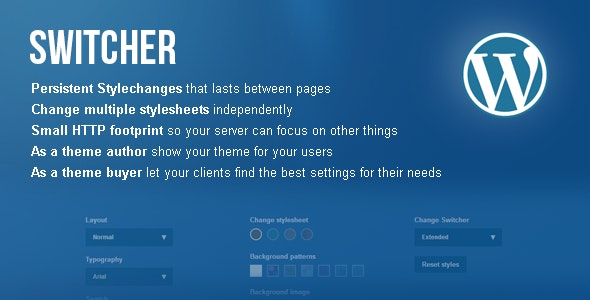 Switcher – Frontend theme customizer for WordPress - CodeCanyon Item for Sale