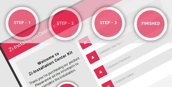 CSS3 Zi-Installation Center & Multi Purpose Kit - CodeCanyon Item for Sale
