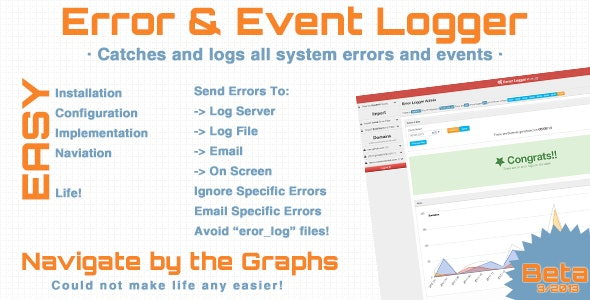 Error & Event Logger - CodeCanyon Item for Sale