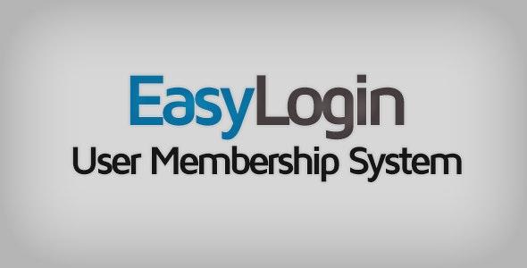 EasyLogin - User Membership System - CodeCanyon Item for Sale
