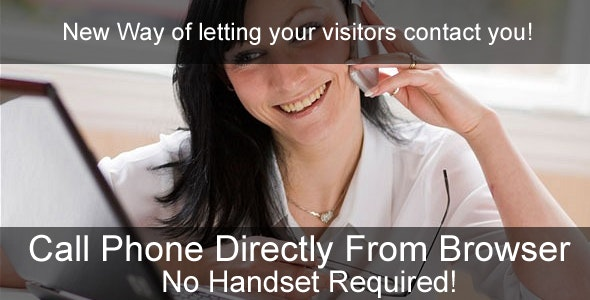 Make a Phone Call directly from Your Website! - CodeCanyon Item for Sale