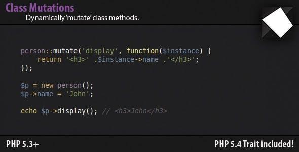 Class Mutations - Dynamically Add Methods