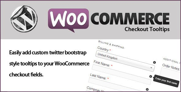WooCommerce Checkout Tooltips