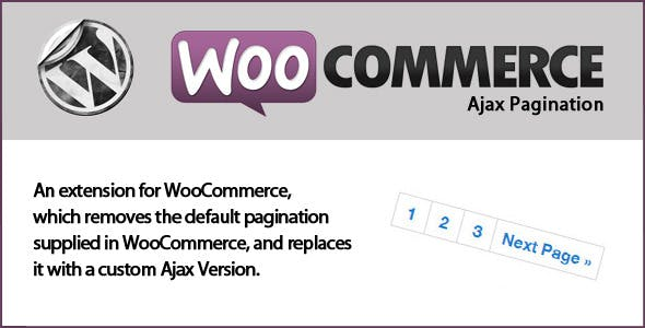 WooCommerce Ajax Pagination