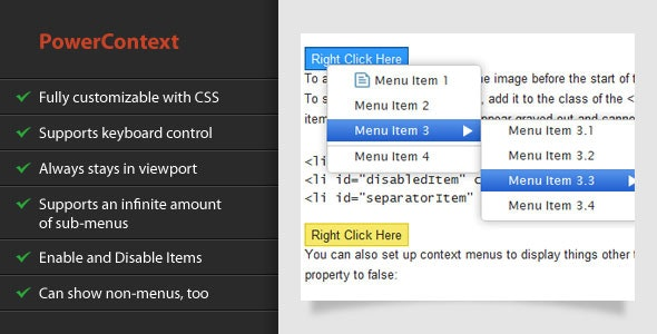 PowerContext - CodeCanyon Item for Sale