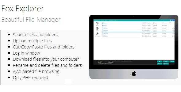 Filemanager Plugins, Code & Scripts from CodeCanyon