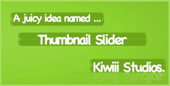Titanium Thumbnail Slider