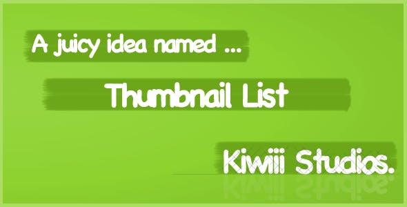 Titanium Thumbnail Listview