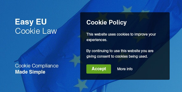 Easy EU Cookie Law - CodeCanyon Item for Sale