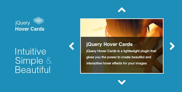 jQuery Hover Cards - CodeCanyon Item for Sale