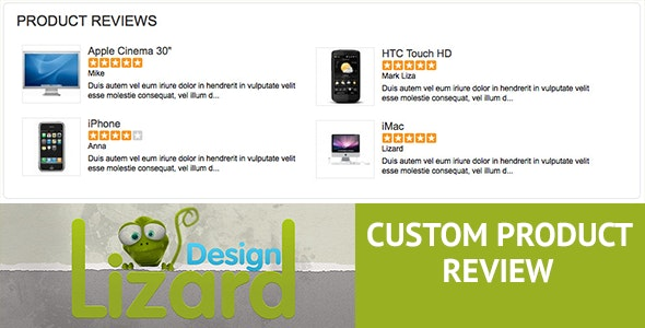 Custom Product Review - CodeCanyon Item for Sale