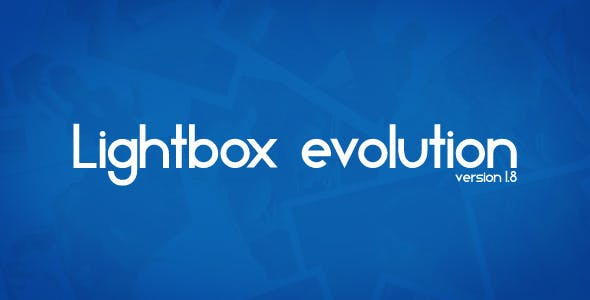 jQuery Lightbox Evolution        Nulled