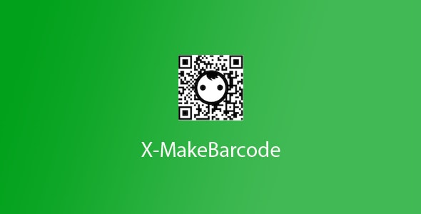X-MakeBarcode - CodeCanyon Item for Sale