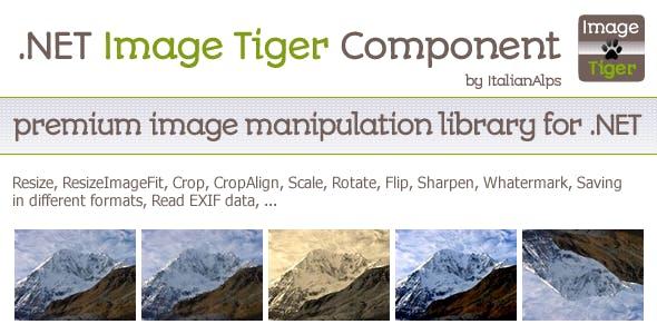 .NET Image Tiger Component