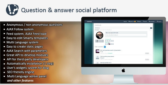 askBird - Question&Answer Social Platform - CodeCanyon Item for Sale