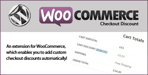 WooCommerce Checkout Discounts - CodeCanyon Item for Sale