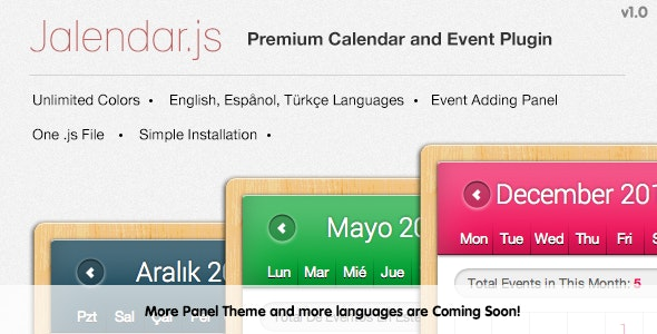Jalendar - Premium Calendar and Events Plugin - CodeCanyon Item for Sale
