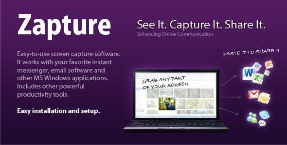 Zapture – Screen Capture & Productivity Tools