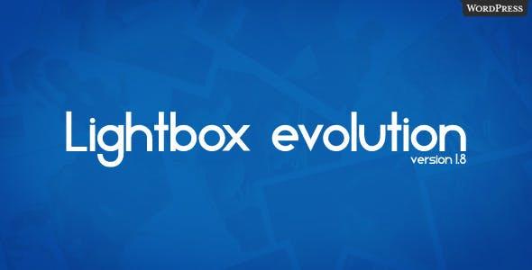 Lightbox Evolution for WordPress        Nulled