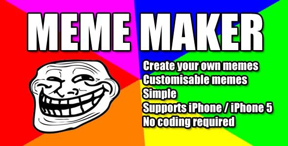 Meme Maker - CodeCanyon Item for Sale