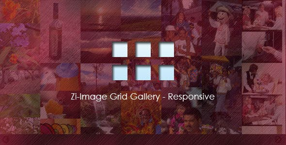 Zi-Image Grid Gallery - Responsive