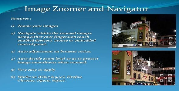 Image Zoomer and Navigator