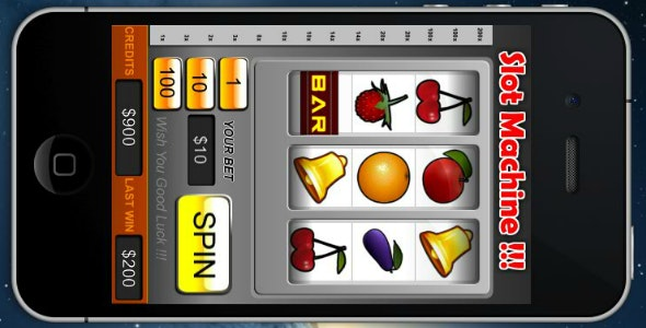 Slot Machine Game - cocos2d - CodeCanyon Item for Sale